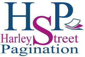 Harley Street Pagination Logo